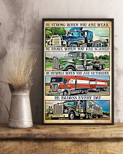 Trucker - Be Strong When You Are Weak 11x17 Poster lifestyle-poster-3