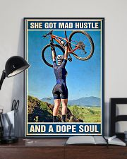 Cycling A Dope Soul 11x17 Poster lifestyle-poster-2