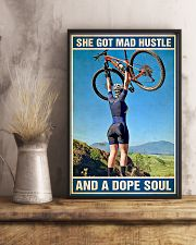 Cycling A Dope Soul 11x17 Poster lifestyle-poster-3