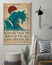 Surfing Mightier Than The Waves Of The Sea 11x17 Poster lifestyle-poster-1