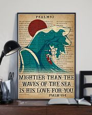 Surfing Mightier Than The Waves Of The Sea 11x17 Poster lifestyle-poster-2
