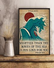 Surfing Mightier Than The Waves Of The Sea 11x17 Poster lifestyle-poster-3