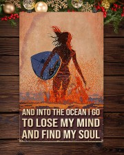 Surfing And Into The Ocean I Go To Find My Soul 11x17 Poster aos-poster-portrait-11x17-lifestyle-22