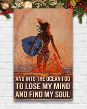 Surfing And Into The Ocean I Go To Find My Soul 11x17 Poster aos-poster-portrait-11x17-lifestyle-23