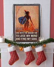 Surfing And Into The Ocean I Go To Find My Soul 11x17 Poster lifestyle-holiday-poster-4