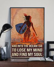 Surfing And Into The Ocean I Go To Find My Soul 11x17 Poster lifestyle-poster-2