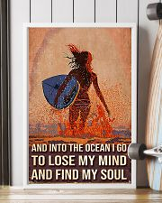 Surfing And Into The Ocean I Go To Find My Soul 11x17 Poster lifestyle-poster-4