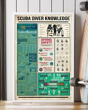 Scuba Diver Knowledge  16x24 Poster lifestyle-poster-4