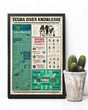 Scuba Diver Knowledge  16x24 Poster lifestyle-poster-8