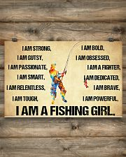 I Am A Fishing Girl 17x11 Poster poster-landscape-17x11-lifestyle-14