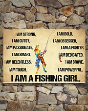 I Am A Fishing Girl 17x11 Poster poster-landscape-17x11-lifestyle-16