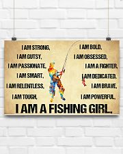 I Am A Fishing Girl 17x11 Poster poster-landscape-17x11-lifestyle-17