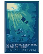 Scuba Diving Life Is Diving 11x17 Poster front