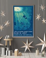 Scuba Diving Life Is Diving 11x17 Poster lifestyle-holiday-poster-1