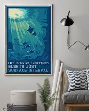 Scuba Diving Life Is Diving 11x17 Poster lifestyle-poster-1