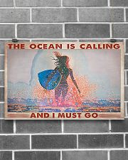 Surfing -  The Ocean Is Calling And I Must Go 17x11 Poster poster-landscape-17x11-lifestyle-18