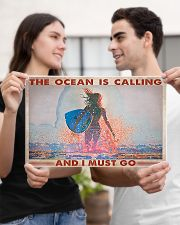Surfing -  The Ocean Is Calling And I Must Go 17x11 Poster poster-landscape-17x11-lifestyle-20
