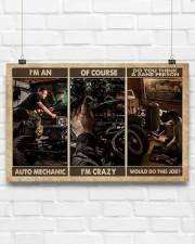 Mechanic I'm An Auto Mechanic 17x11 Poster aos-poster-landscape-17x11-lifestyle-17