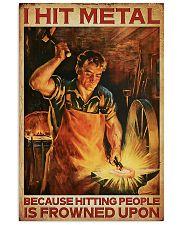 Blacksmith I Hit Mental 11x17 Poster front