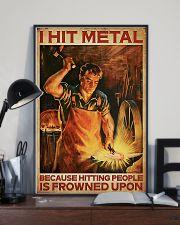 Blacksmith I Hit Mental 11x17 Poster lifestyle-poster-2