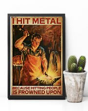 Blacksmith I Hit Mental 11x17 Poster lifestyle-poster-8