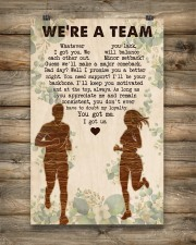Running - We're A Team 11x17 Poster aos-poster-portrait-11x17-lifestyle-14
