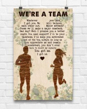Running - We're A Team 11x17 Poster aos-poster-portrait-11x17-lifestyle-17