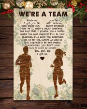 Running - We're A Team 11x17 Poster aos-poster-portrait-11x17-lifestyle-22