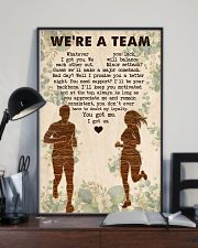 Running - We're A Team 11x17 Poster lifestyle-poster-2