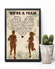 Running - We're A Team 11x17 Poster lifestyle-poster-8