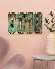 Swimmers Be Humble When You Are Victorious  17x11 Poster poster-landscape-17x11-lifestyle-22
