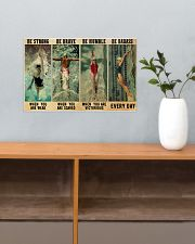 Swimmers Be Humble When You Are Victorious  17x11 Poster poster-landscape-17x11-lifestyle-24