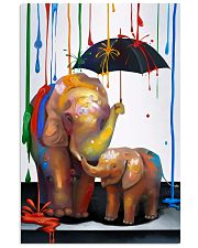 Elephant - Colorful Rain 11x17 Poster front
