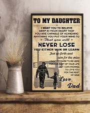 Trucker - To My Daughter 11x17 Poster lifestyle-poster-3