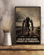 Running - Pain Is Temporary Pride Is Forever 11x17 Poster lifestyle-poster-3