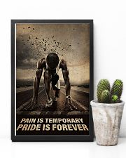 Running - Pain Is Temporary Pride Is Forever 11x17 Poster lifestyle-poster-8