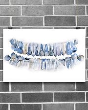 Dentist Pan X Ray Teeth Watercolor Art 17x11 Poster poster-landscape-17x11-lifestyle-18