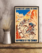 Cycling Happiness Is The Corner 11x17 Poster lifestyle-poster-3