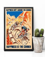 Cycling Happiness Is The Corner 11x17 Poster lifestyle-poster-8