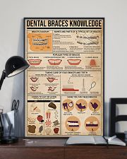 Dentist Dental Braces Knowledge 11x17 Poster lifestyle-poster-2