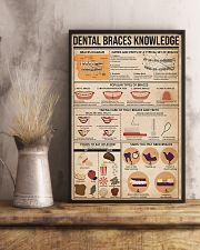 Dentist Dental Braces Knowledge 11x17 Poster lifestyle-poster-3
