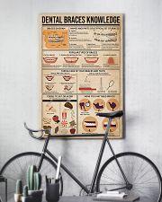 Dentist Dental Braces Knowledge 11x17 Poster lifestyle-poster-7