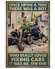 Mechanic A Boy Who Really Loved Fixing Cars 11x17 Poster front