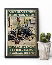 Mechanic A Boy Who Really Loved Fixing Cars 11x17 Poster lifestyle-poster-8