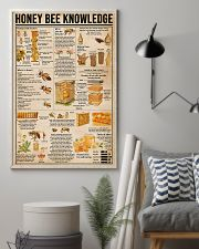 Honey Bee Knowledge 11x17 Poster lifestyle-poster-1