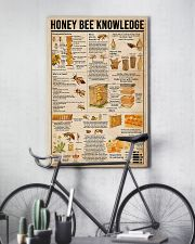 Honey Bee Knowledge 11x17 Poster lifestyle-poster-7