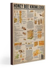 Honey Bee Knowledge 20x30 Gallery Wrapped Canvas Prints thumbnail