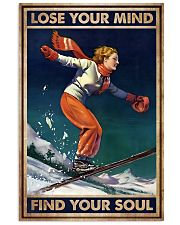 Find Your Soul Skiing 11x17 Poster front