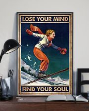 Find Your Soul Skiing 11x17 Poster lifestyle-poster-2