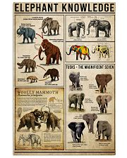 Elephant Knowledge 16x24 Poster front